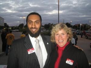 Omar Ha-Redeye and Deb Matthews