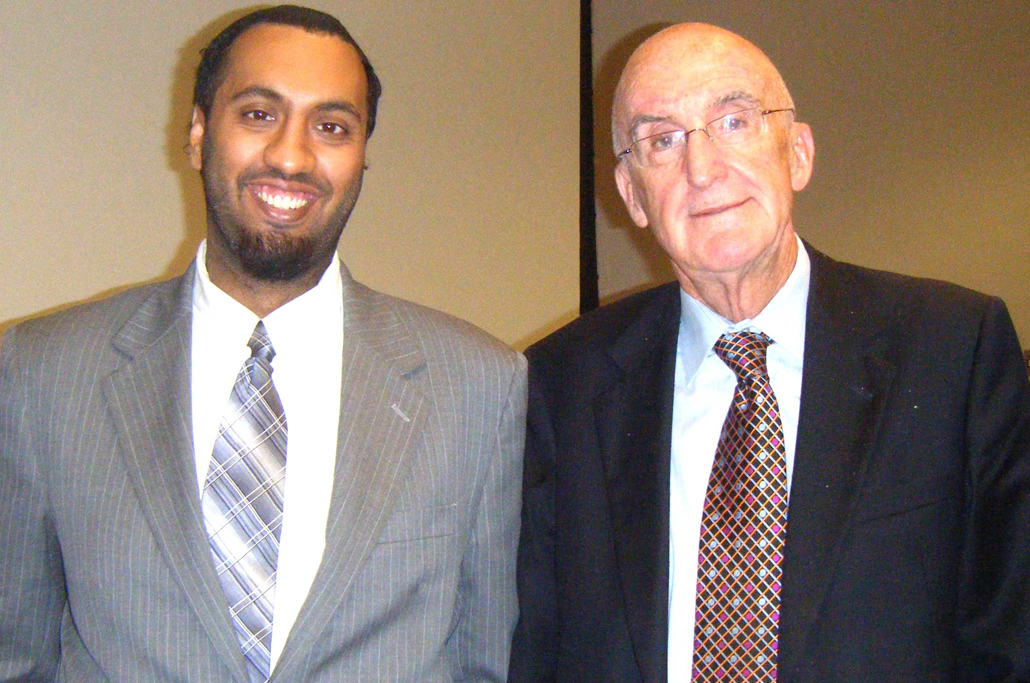 Omar Ha-Redeye with John C. Major CC QC