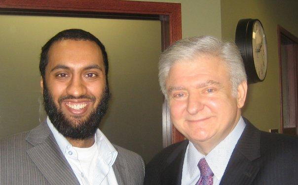 Omar Ha-Redeye (L) and Edward Greenspan (R)