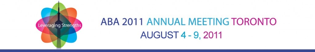 2011 American Bar Association AGM in Toronto