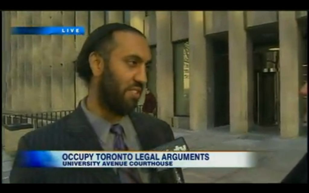 Occupy Toronto Legal Arguments