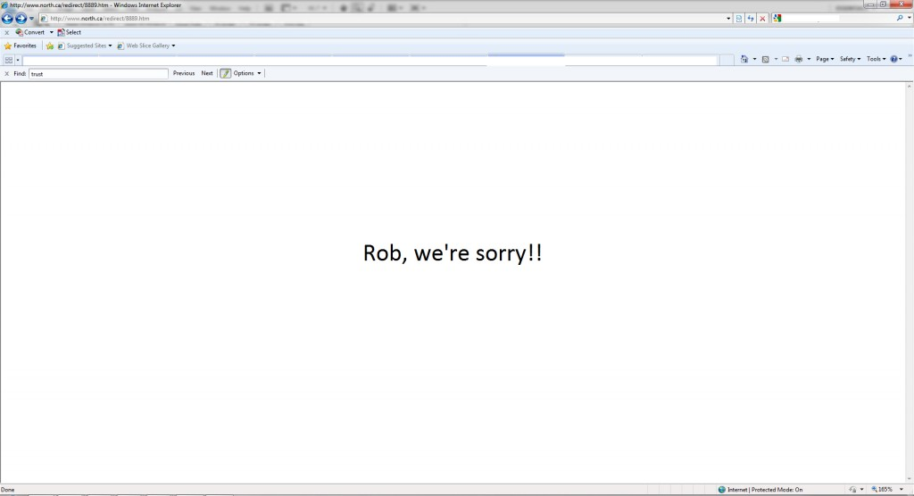 RobFord.Ca Redirected to Toronto Star Website