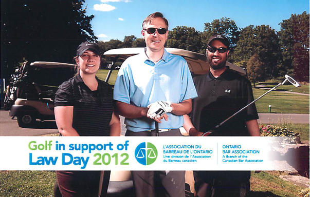 Golf in Support of Law Day 2012