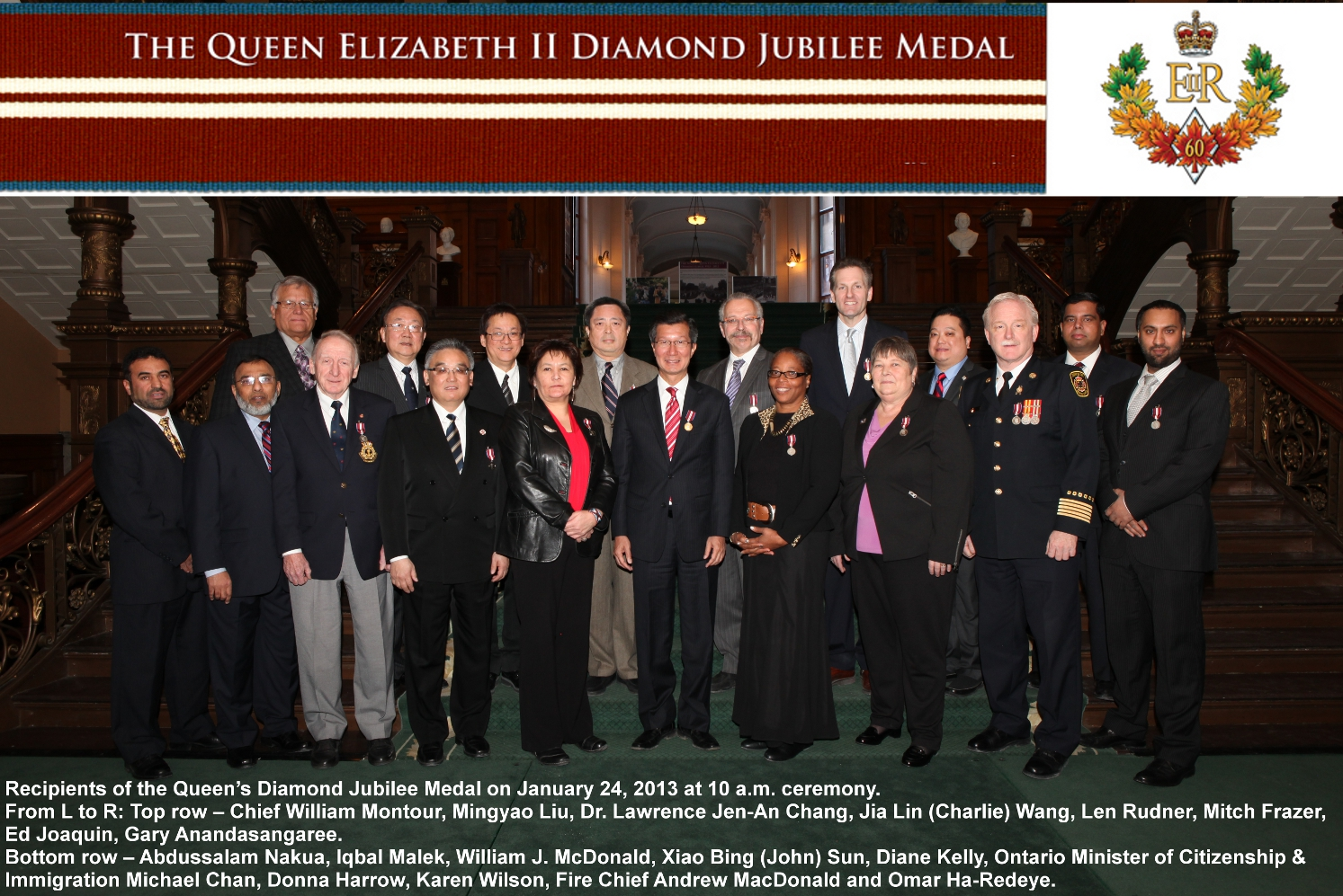 Queen's Diamond Jubilee Medal (Group)