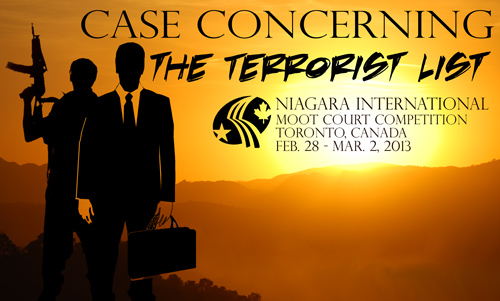 2013 Niagara International Moot Court Competition