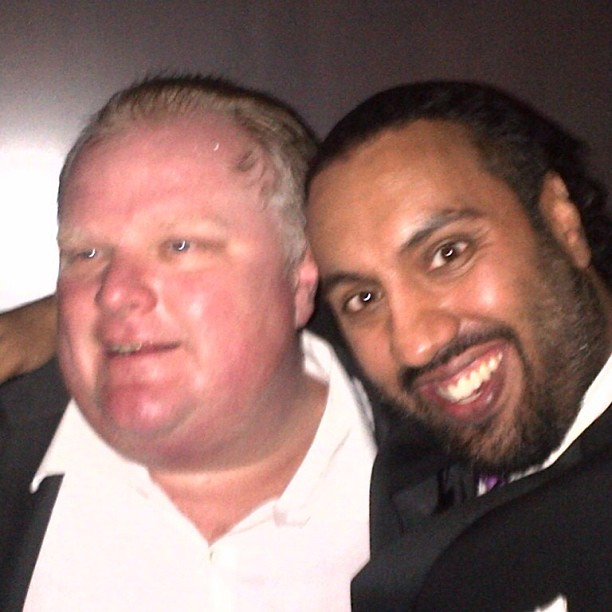 Rob Ford and Omar Ha-Redeye