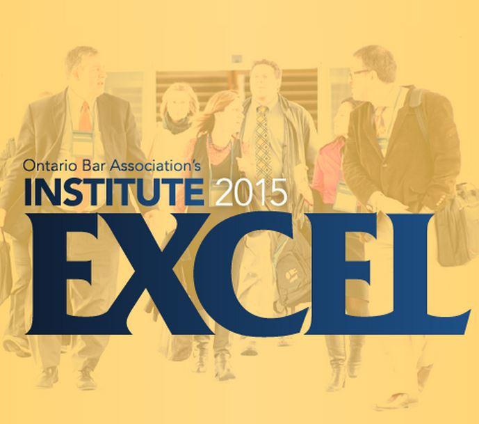 OBA Institute 2015