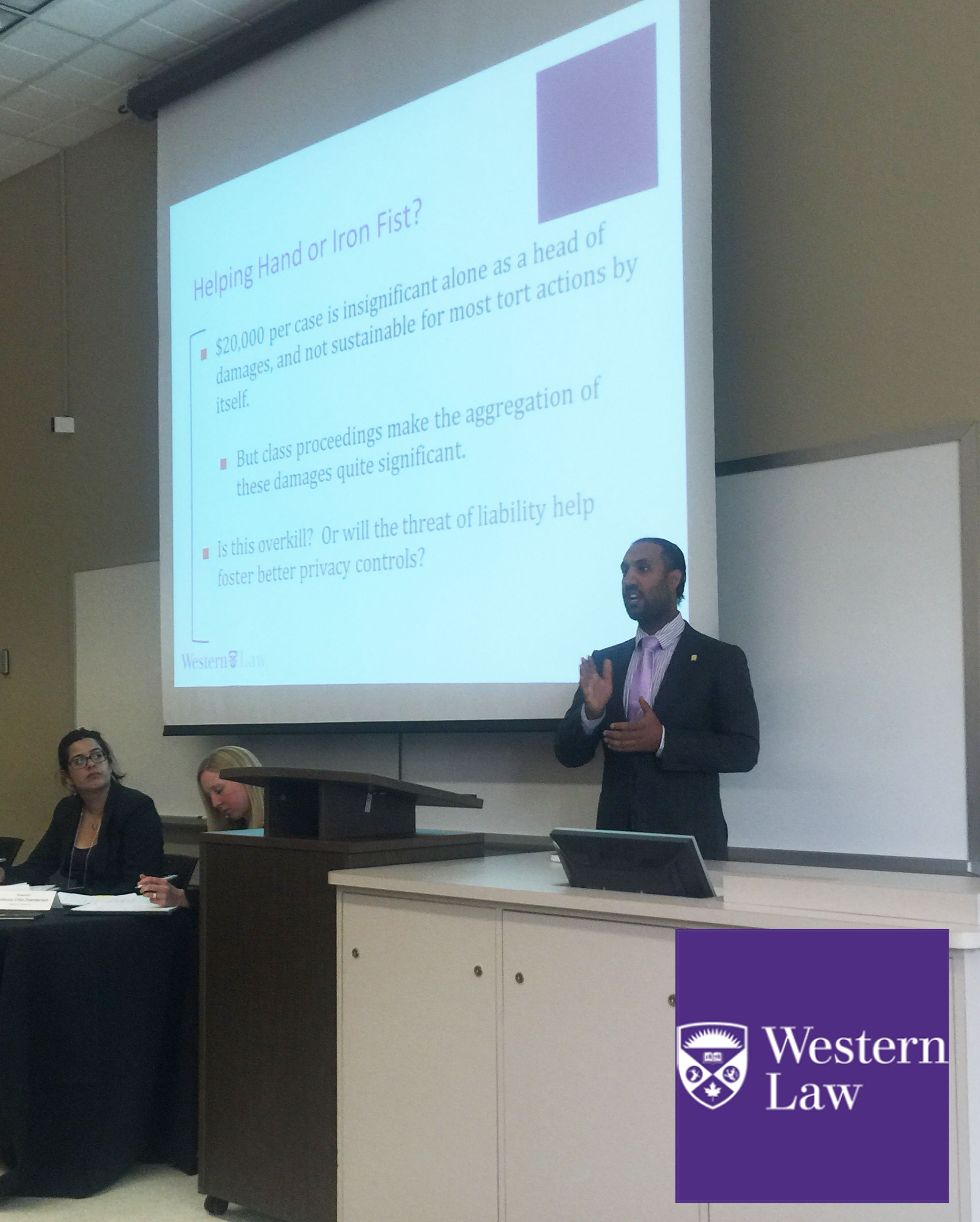 Omar Ha-Redeye LLM at Western Law